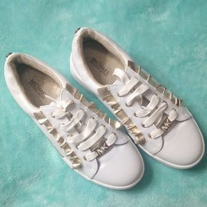 EUC Micheal Kors (Youth Girls) sneakers